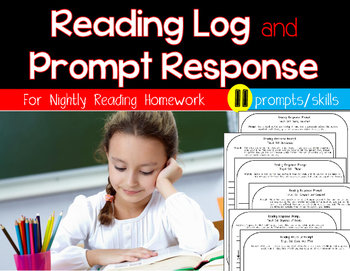 Reading Response and Log for Nightly Reading