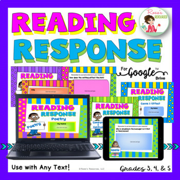 Reading Response for Any Text - Digital