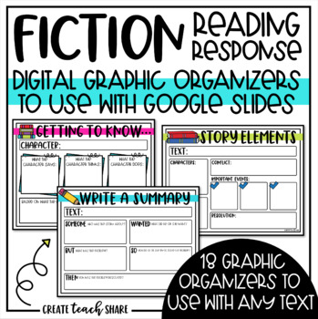 Reading Response for Literature Texts GOOGLE Edition