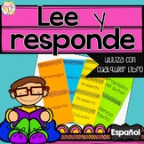 Reading Response Spanish Lee y Responde