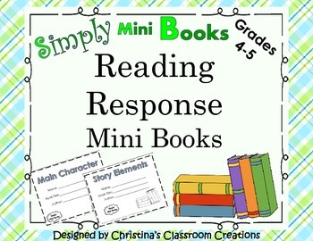 Reading Response to Literature Activities (Fourth and Fifth) Simply Mini Books