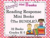 Reading Response to Literature Activities BUNDLE (K-3) Simply Mini Books