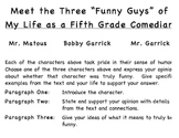 Reading Response to My Life As A Fifth Grade Comedian