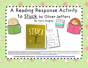 Reading Response to Stuck by Oliver Jeffers