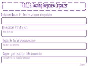 Reading Response with Evidence