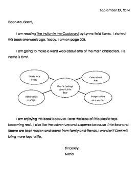 Reading Response/Response to Literature - CCSS Aligned
