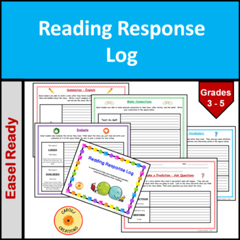Reading Response/Text Connections/Evaluation Packet