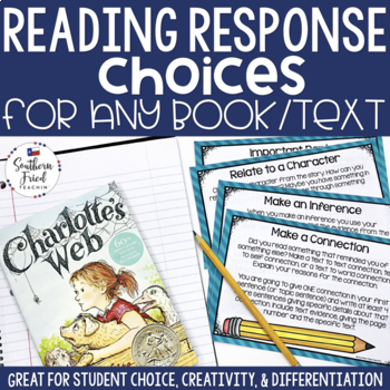 Reading Response Choices for ANY book