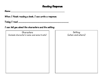Reading Responses