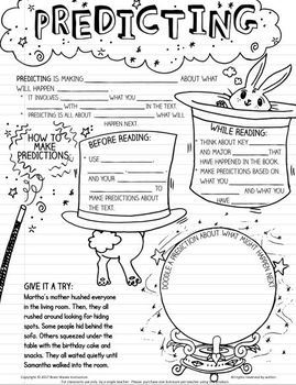 Reading Responses – Doodle Notes on Reading Strategies + Reading Response Sheets