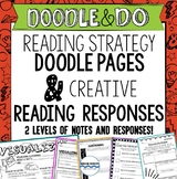 Reading Responses – Doodle Notes on Reading Strategies, Doodle and Do