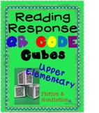 Reading Responses QR Code Cubes