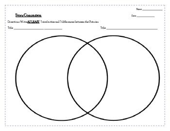 Reading Responses - Story Elements and Comparisons