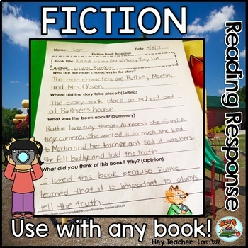 Reading Graphic Organizers, Reading Logs, and Book Responses