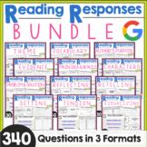 Reading Comprehension Responses BUNDLE