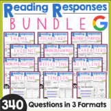 Reading Comprehension Responses BUNDLE