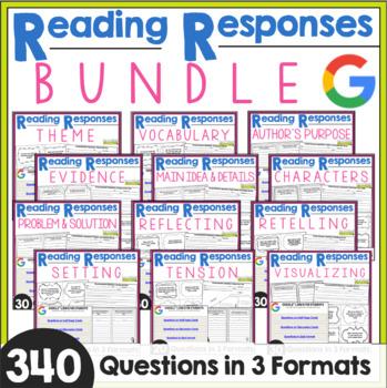 Reading Responses for Big Kids: BUNDLE