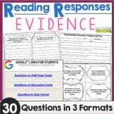 Reading Responses: Evidence