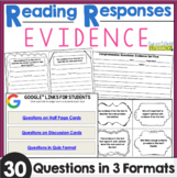 Reading Responses: Evidence