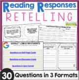 Reading Responses: Retelling