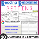 Reading Responses: Setting