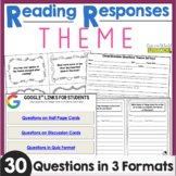Reading Responses: Theme