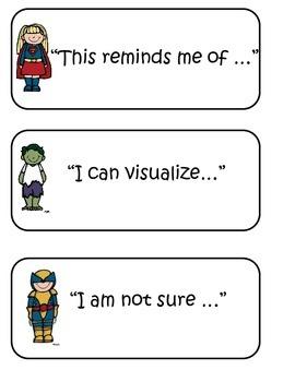 Reading Responses with Superhero Kids