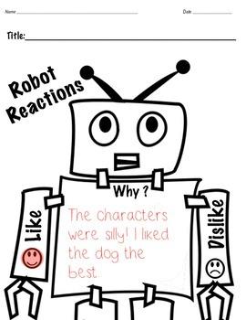 Reading Responses:K-2 (Primary Level)