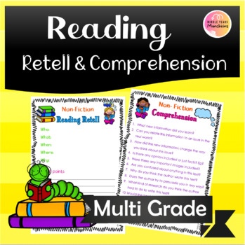 Reading Retell & Comprehension worksheet