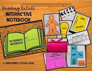 Reading Retell Interactive Notebook