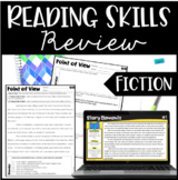 Reading Review | 4th and 5th Grade Reading Skills Review {Fiction Skills}