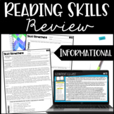 Reading Review    Nonfiction - Digital Access Included for Distance Learning