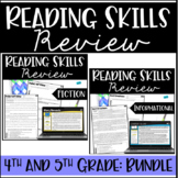 Reading Review   4th & 5th Grade - Digital Access Included