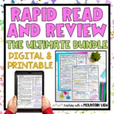 Reading Review Bundle | Google Classroom