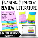 Reading Review {Literature} *Google Slides™ Included for Distance Learning