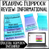 Reading Review {Informational} *Google Slides™ Included for Distance Learning