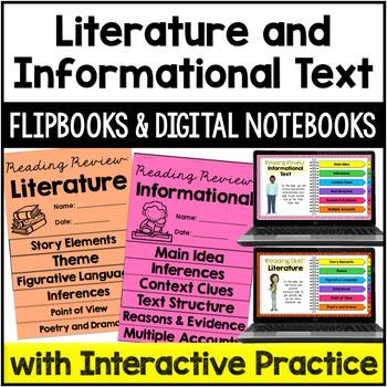 Reading Review Flipbooks {Bundle}