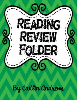 Reading Review Folder-English only edition