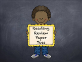 Reading Review Game
