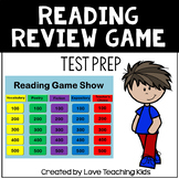 Reading Review Game 3rd & 4th Grade Test Prep