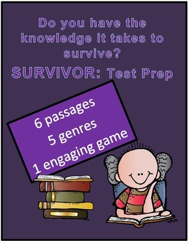 Reading Review Game Survivor Theme 6 Passages Different Genres