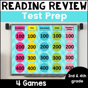 Reading Review Games  Test Prep Bundle