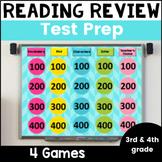 Reading Test Prep Review Games Bundle