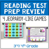 Reading Test Prep Review Games Bundle