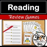 State Reading Test Review Games (for state reading test or end of year review)