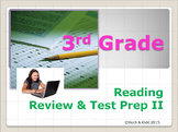 Reading Review & Test Prep II - 3rd Grade SOLs