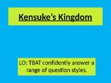 Reading Revision - Kensuke's Kingdom