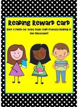 Reading Reward Punch Card