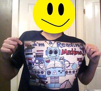 Reading Machine Reward T-shirt Graphic