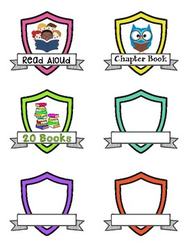 Reading Rewards | Badges